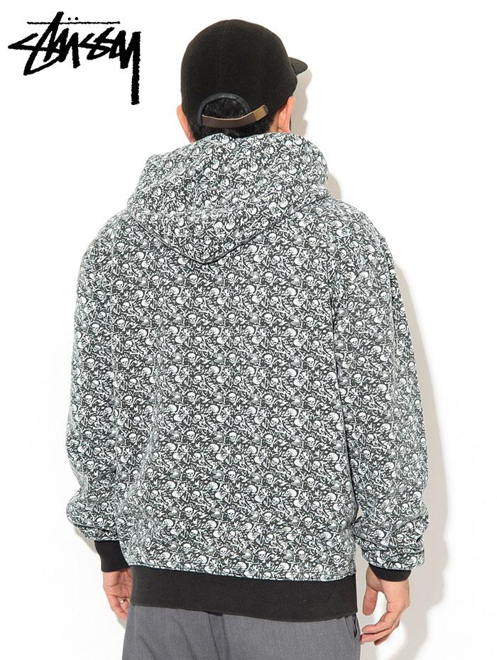 STUSSYステューシーのパーカー Vintage Bones Pullover Hoodie02