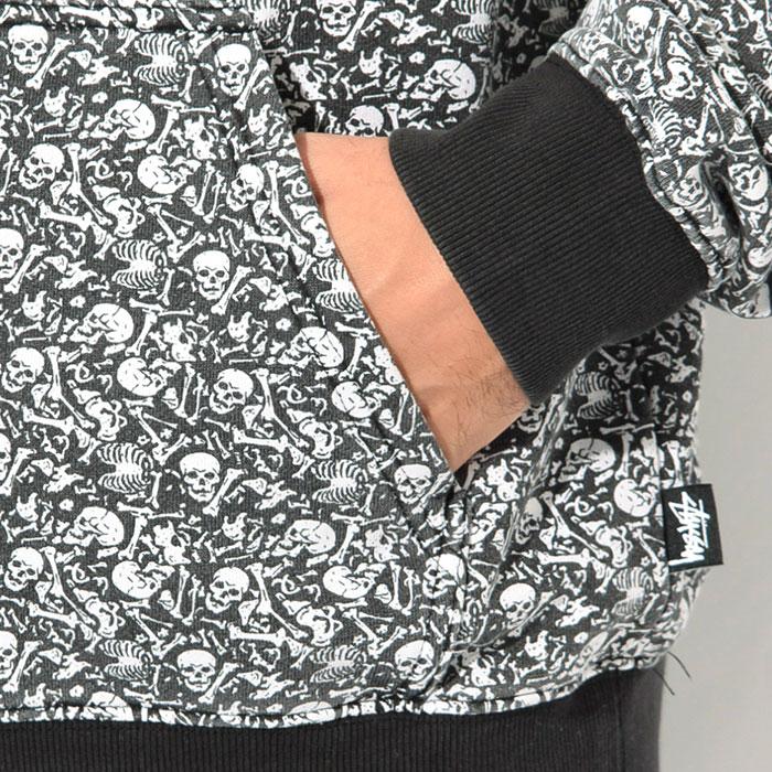 STUSSYステューシーのパーカー Vintage Bones Pullover Hoodie03