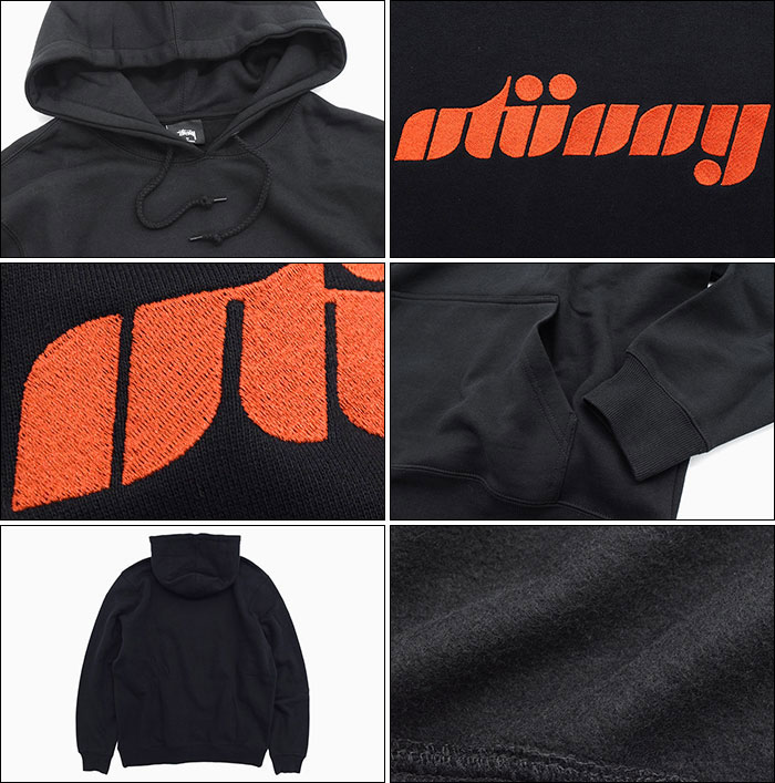 STUSSYステューシーのパーカー Pretty Stussy Applique Pullover Hoodie03