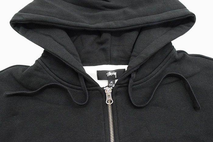STUSSYステューシーのパーカー Thermal Full Zip Hoodie05