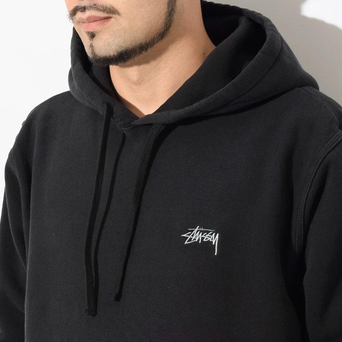 STUSSYステューシーのパーカー Stock Logo Pullover Hoodie02