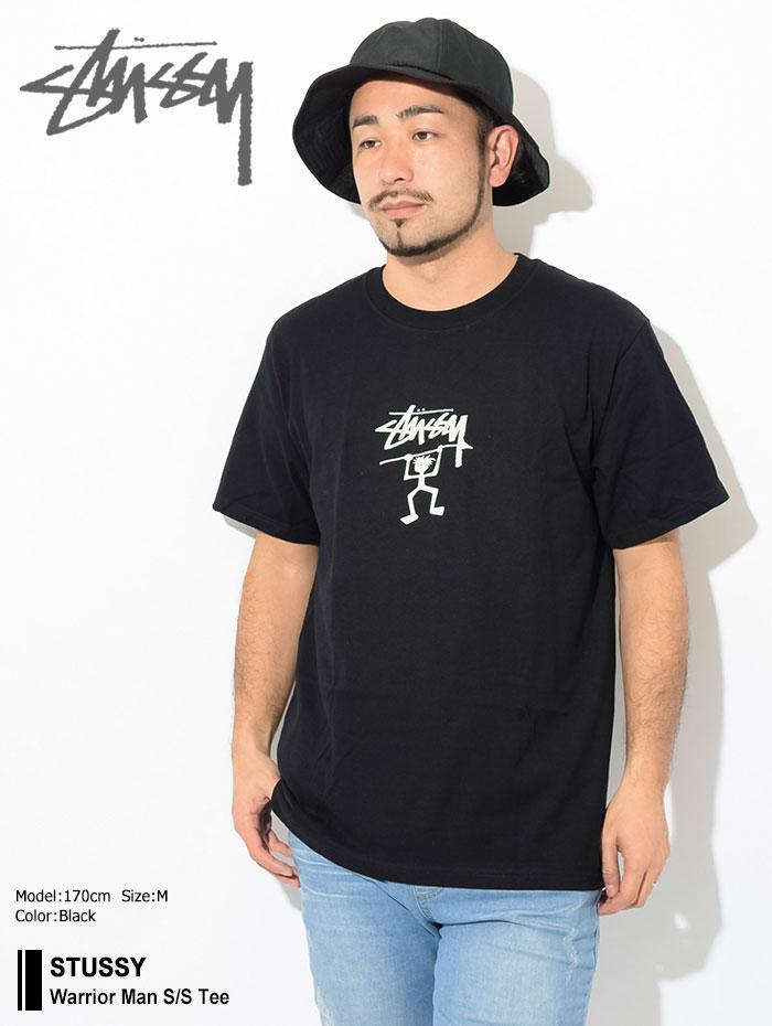 STUSSYステューシーのTシャツ Warrior Man01