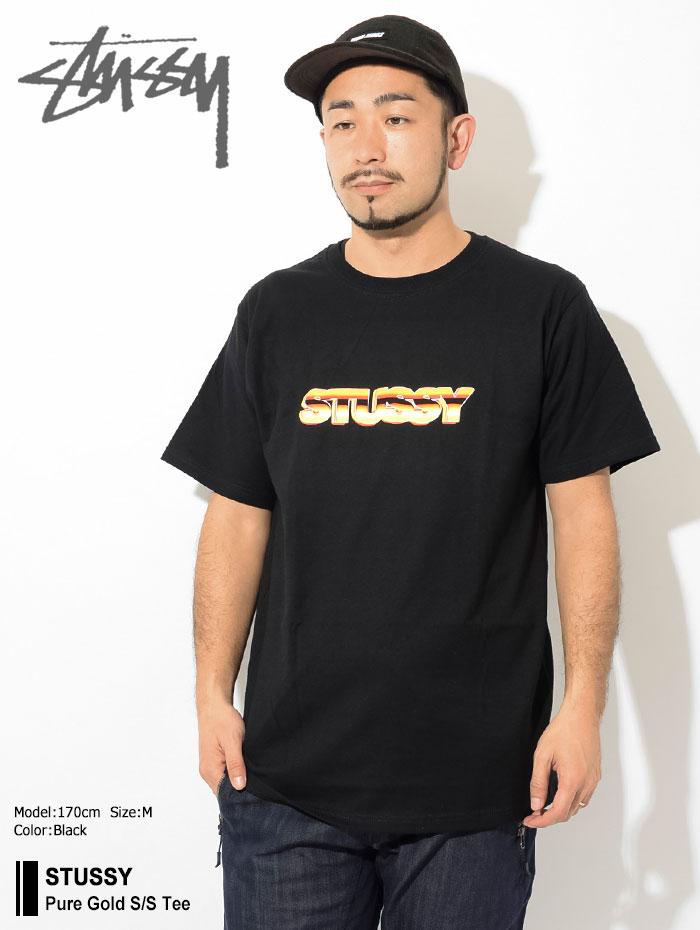 STUSSYステューシーのTシャツ Pure Gold01