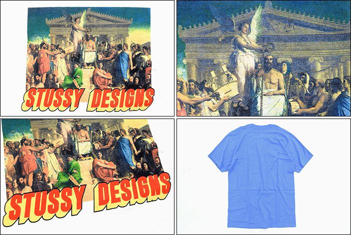 STUSSYステューシーのTシャツ Zeus03