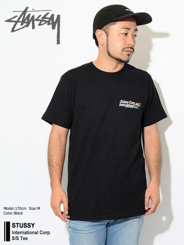 STUSSYステューシーのTシャツ International Corp01