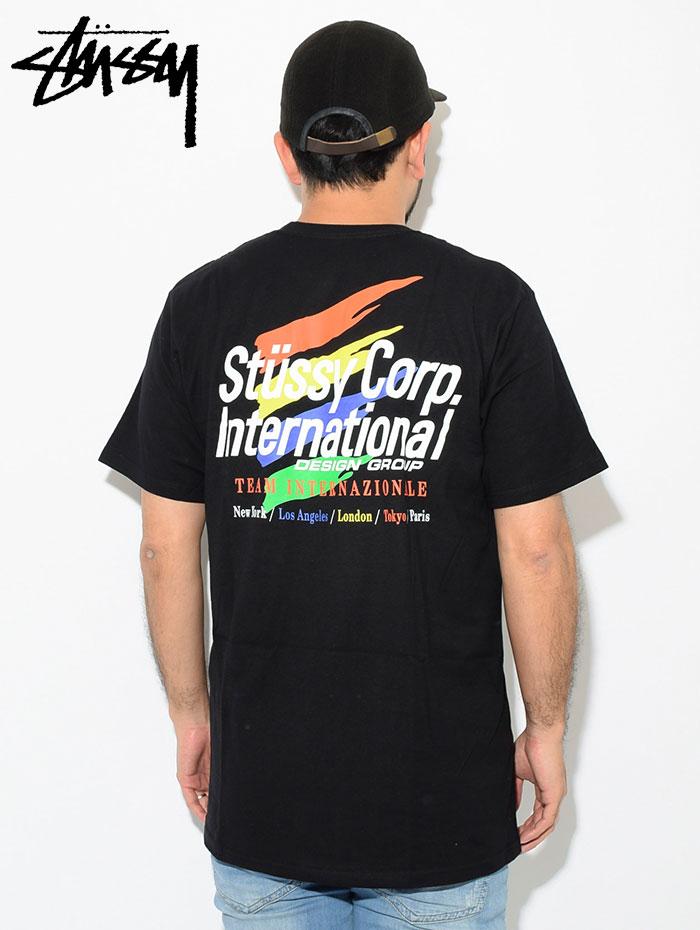 STUSSYステューシーのTシャツ International Corp02