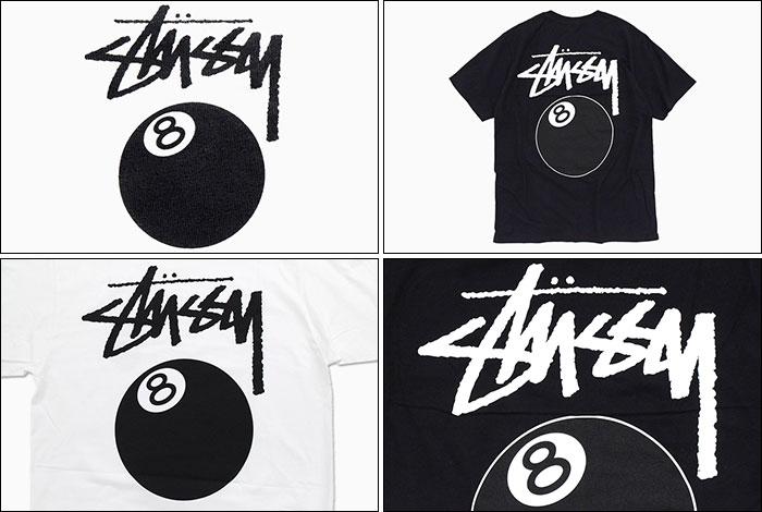 STUSSYステューシーのTシャツ 8 Ball04