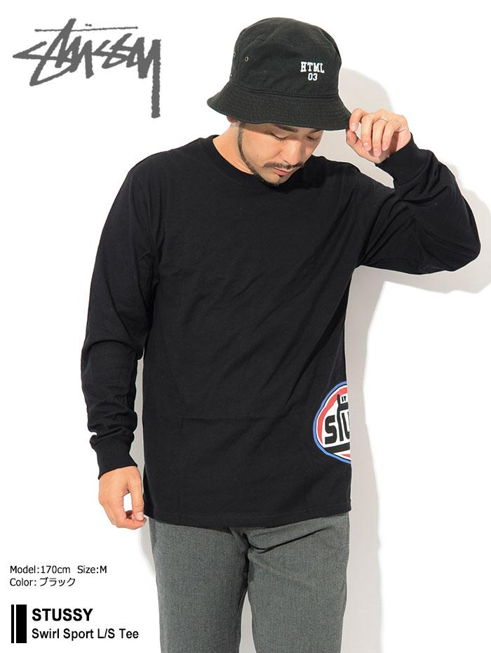 STUSSYステューシーのTシャツ Swirl Sport01