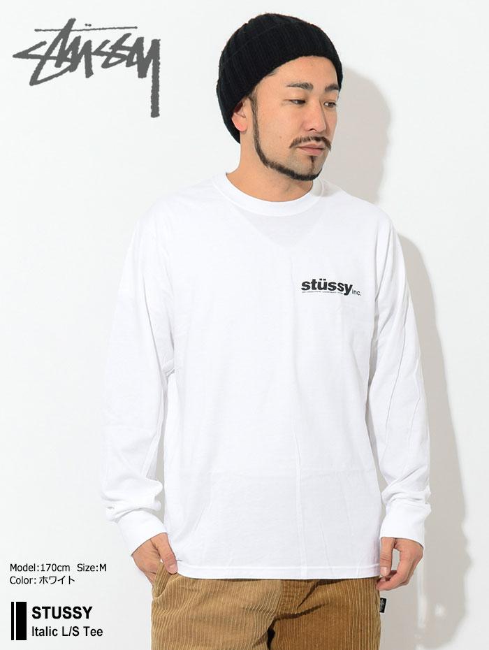 STUSSYステューシーのTシャツ Italic01