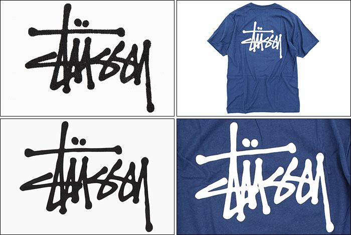 STUSSYステューシーのTシャツ ベーシックステューシー05