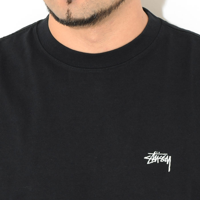 STUSSYステューシーのカットソー Stock Logo Crew02