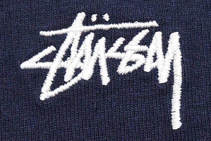 STUSSYステューシーのカットソー Stock Logo Crew06