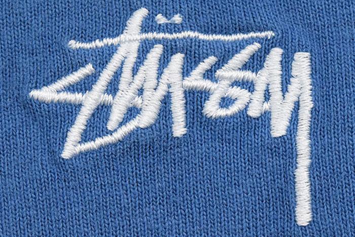 STUSSYステューシーのカットソー Stock Logo Crew07