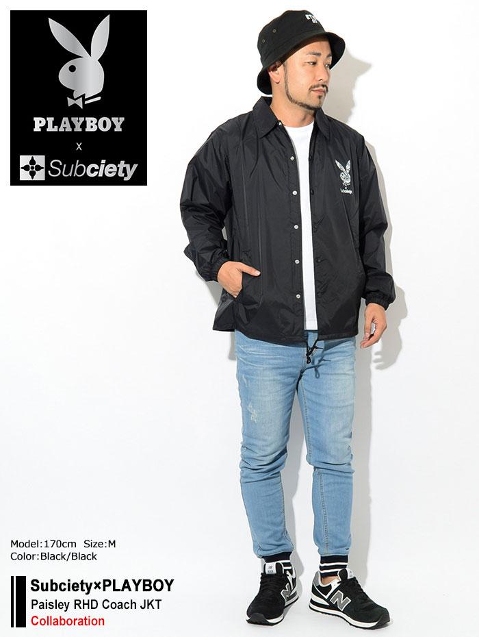 Subcietyサブサエティのジャケット PLAYBOY Paisley RHD Coach01
