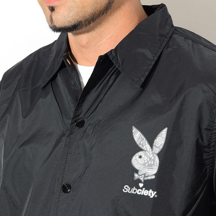 Subcietyサブサエティのジャケット PLAYBOY Paisley RHD Coach04