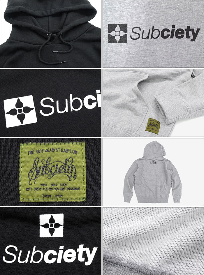 Subcietyサブサエティのパーカー The Base Pullover Hoodie03
