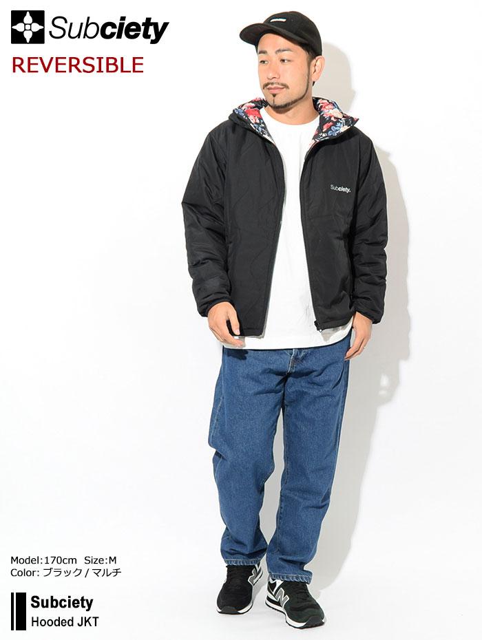 Subcietyサブサエティのジャケット Hooded JKT01