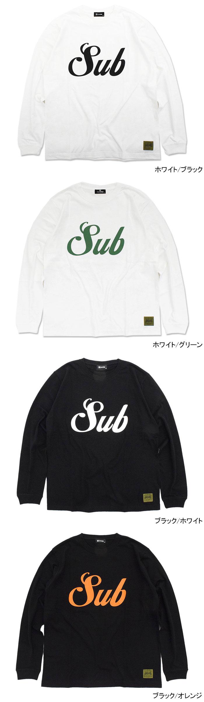 SubcietyサブサエティのTシャツ Middle Logo06