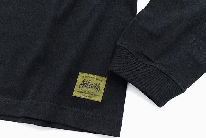 SubcietyサブサエティのTシャツ Middle Logo08