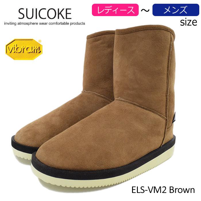 SUICOKEスイコックのブーツ ELS-VM01