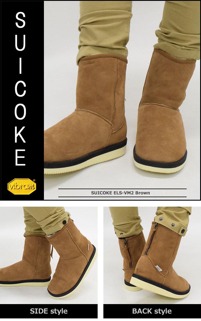 SUICOKEスイコックのブーツ ELS-VM02