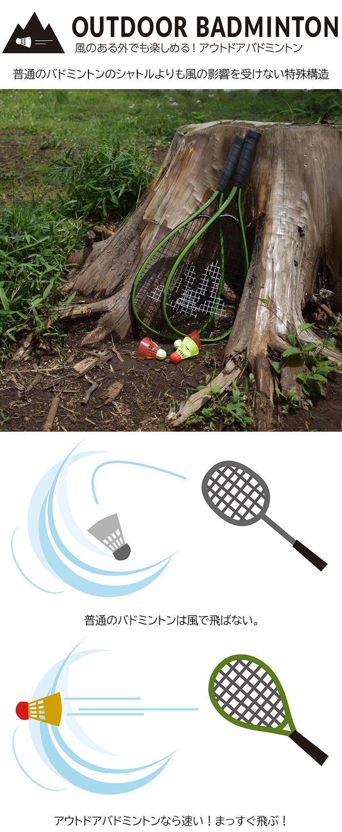 Talbot-Torroタルボットトロのバドミントン Speed Badminton Set Speed 4400 01