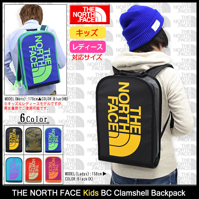 THE NORTH FACEザノースフェイスのバッグ Kids BC Clamshell Backpack01