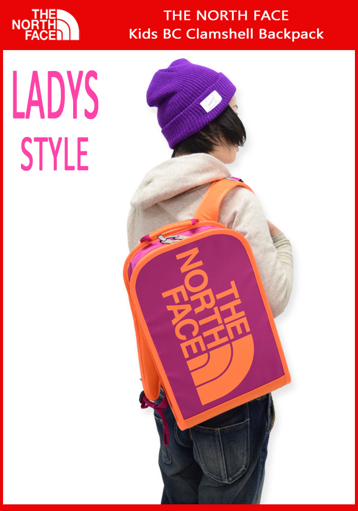THE NORTH FACEザノースフェイスのバッグ Kids BC Clamshell Backpack02