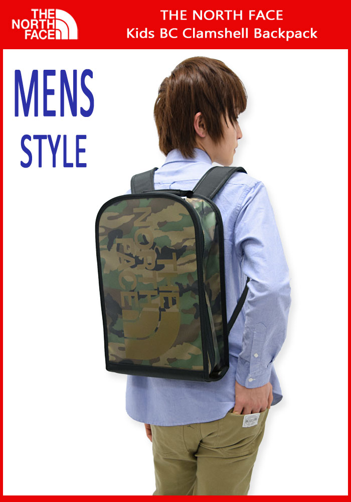 THE NORTH FACEザノースフェイスのバッグ Kids BC Clamshell Backpack03