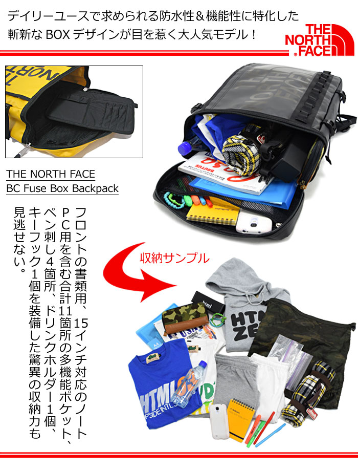 THE NORTH FACEザ ノースフェイスのバッグ BC Fuse Box Backpack15
