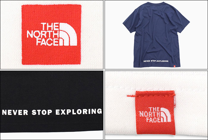 THE NORTH FACEザ ノースフェイスのTシャツ Small Box Logo07