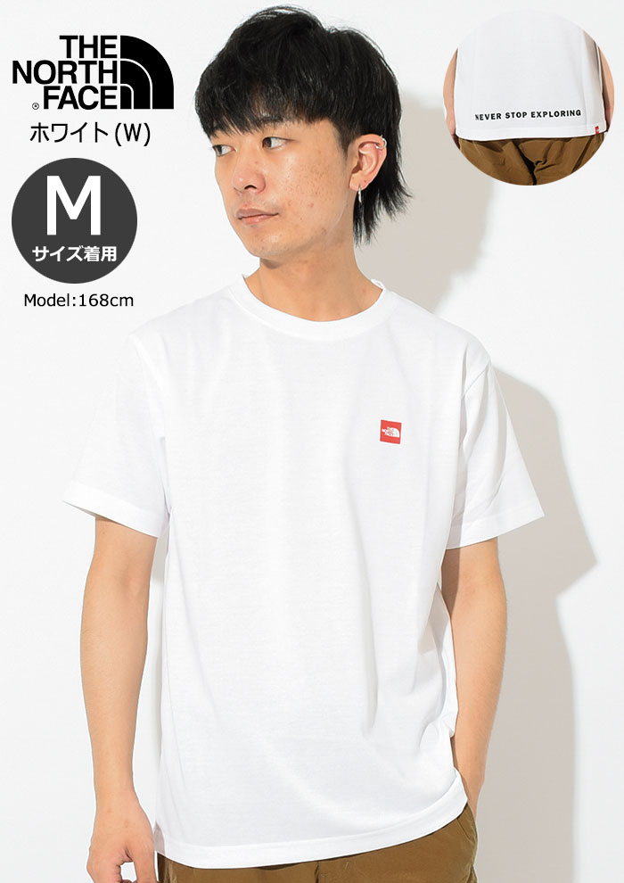 THE NORTH FACEザ ノースフェイスのTシャツ Small Box Logo04