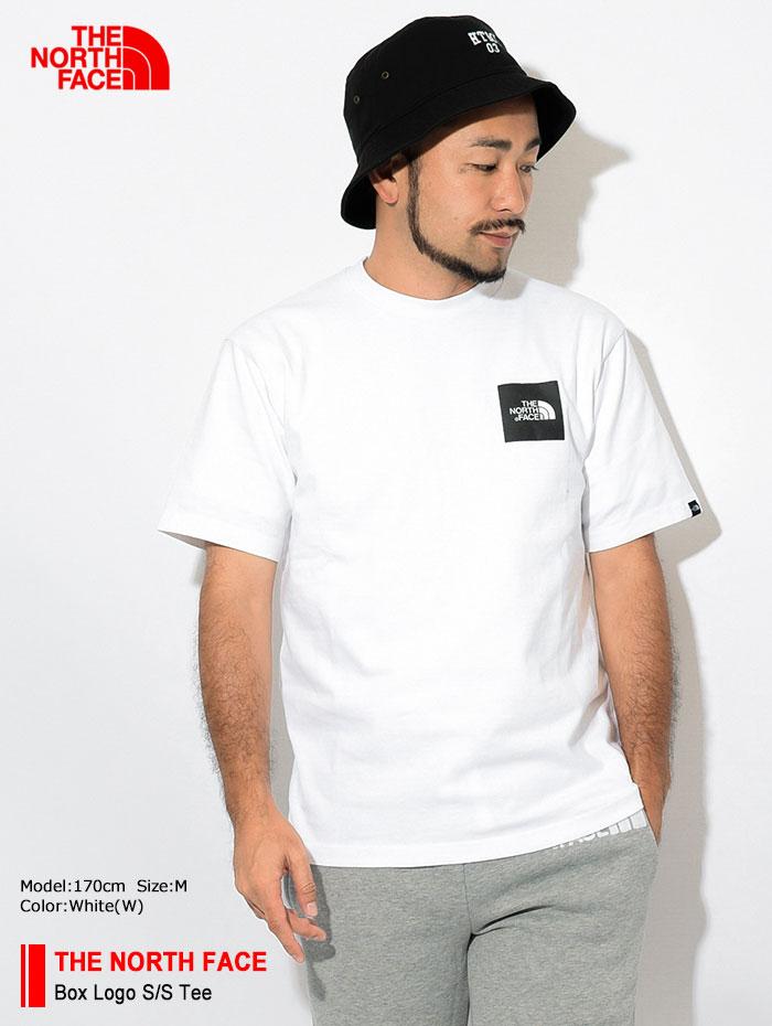 THE NORTH FACEザ ノースフェイスのTシャツ Box Logo01