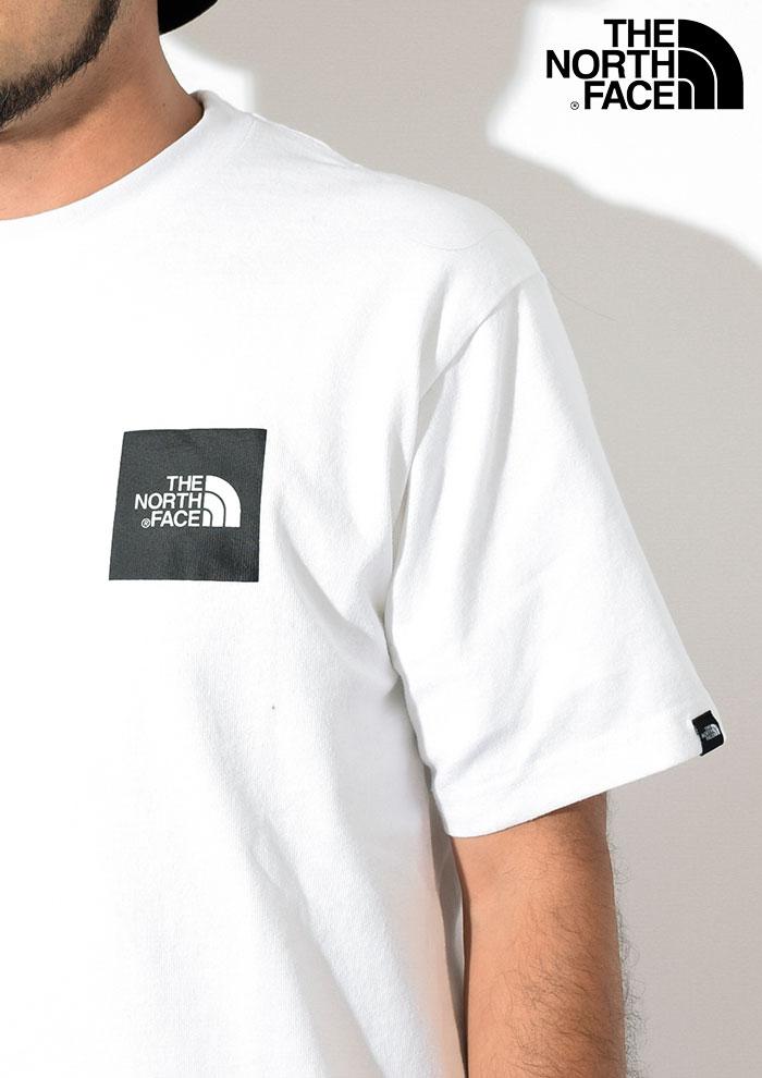 THE NORTH FACEザ ノースフェイスのTシャツ Box Logo02