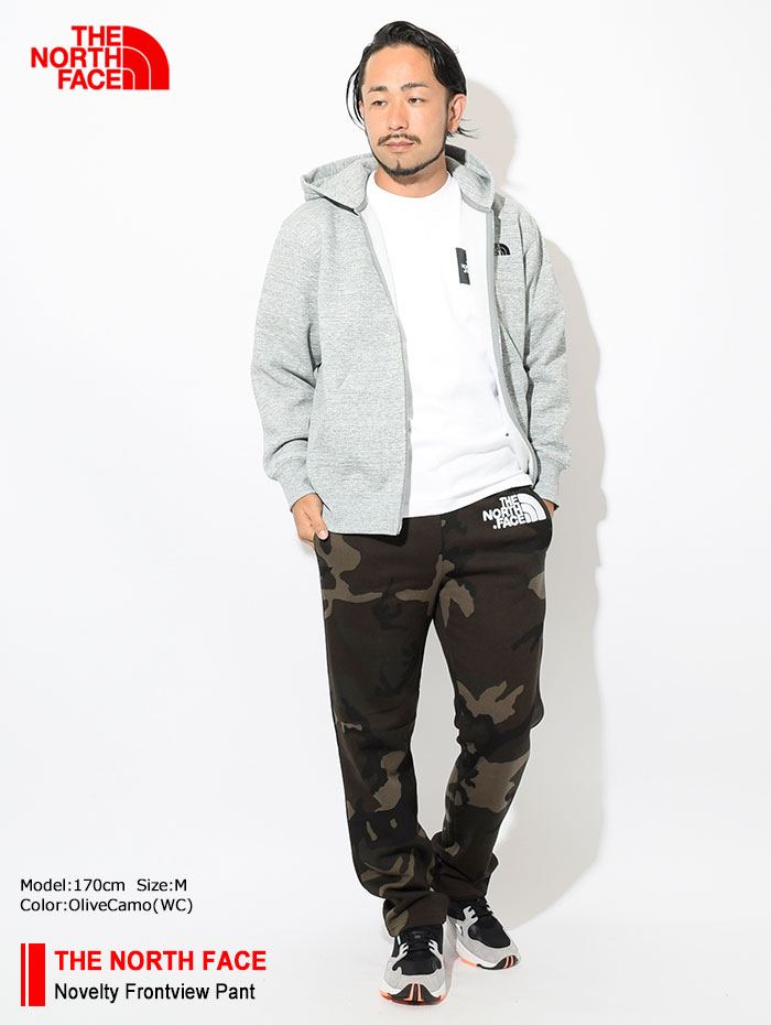 THE NORTH FACEザノースフェイスのパンツ Novelty Frontview Pant02