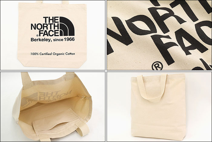 THE NORTH FACEザ ノースフェイスのバッグ 19SS TNF Organic Cotton Tote Bag04