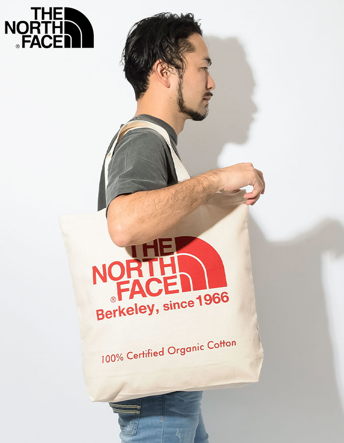 THE NORTH FACEザ ノースフェイスのバッグ 19SS TNF Organic Cotton Tote Bag03