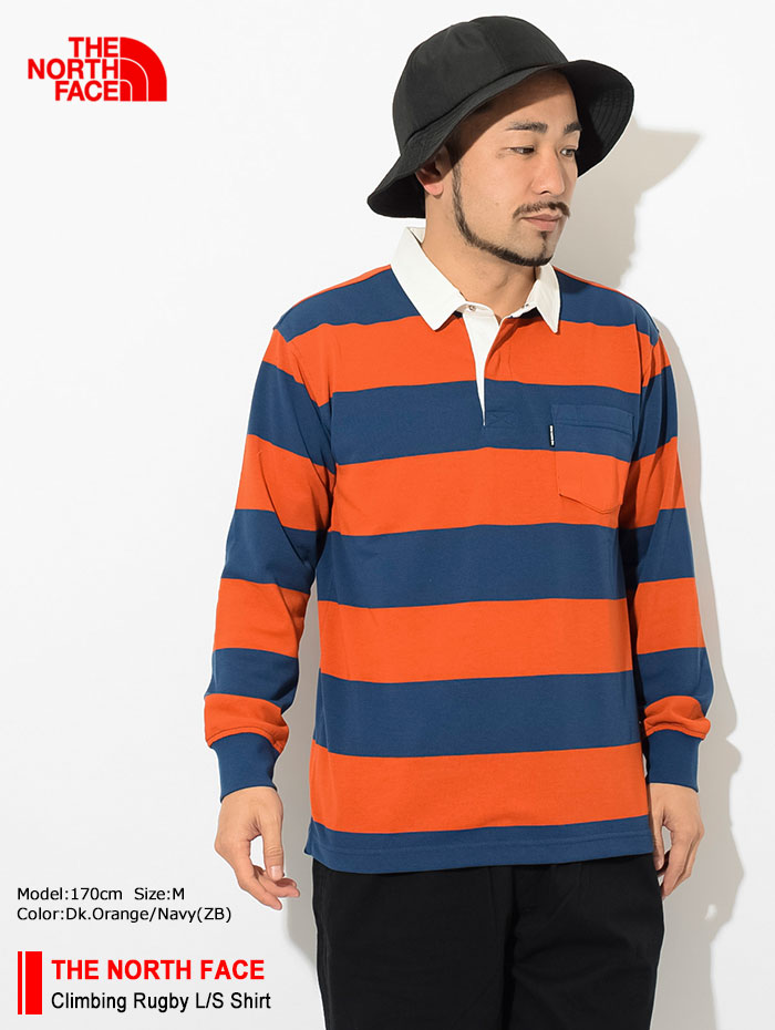 THE NORTH FACEザ ノースフェイスのシャツ Climbing Rugby Shirt01
