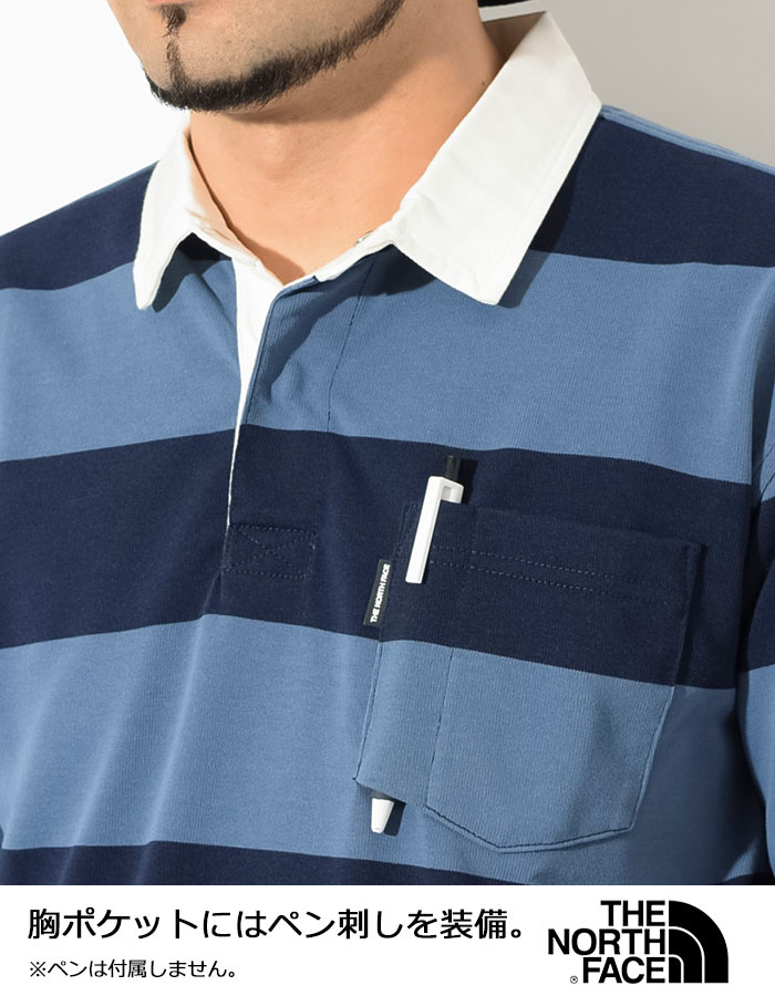 THE NORTH FACEザ ノースフェイスのシャツ Climbing Rugby Shirt04