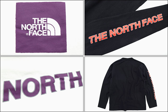 THE NORTH FACEザ ノースフェイスのTシャツ Square Logo Sleeve05