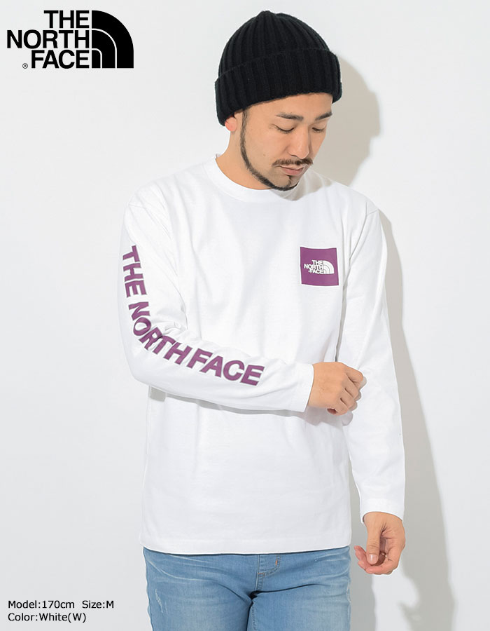 THE NORTH FACEザ ノースフェイスのTシャツ Square Logo Sleeve02