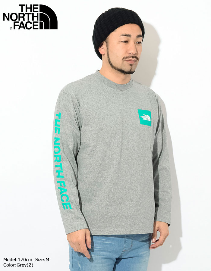 THE NORTH FACEザ ノースフェイスのTシャツ Square Logo Sleeve03