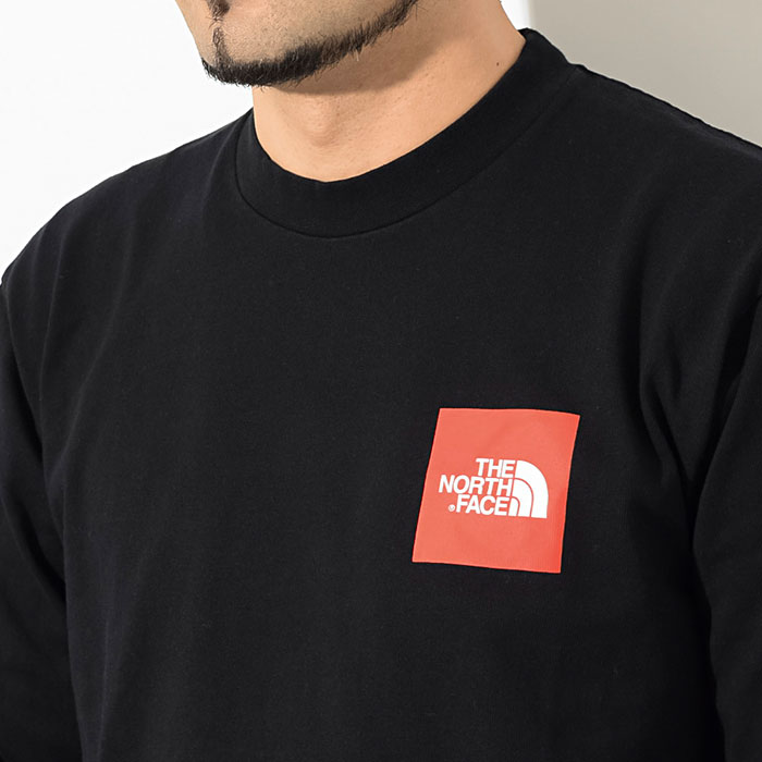THE NORTH FACEザ ノースフェイスのTシャツ Square Logo Sleeve04