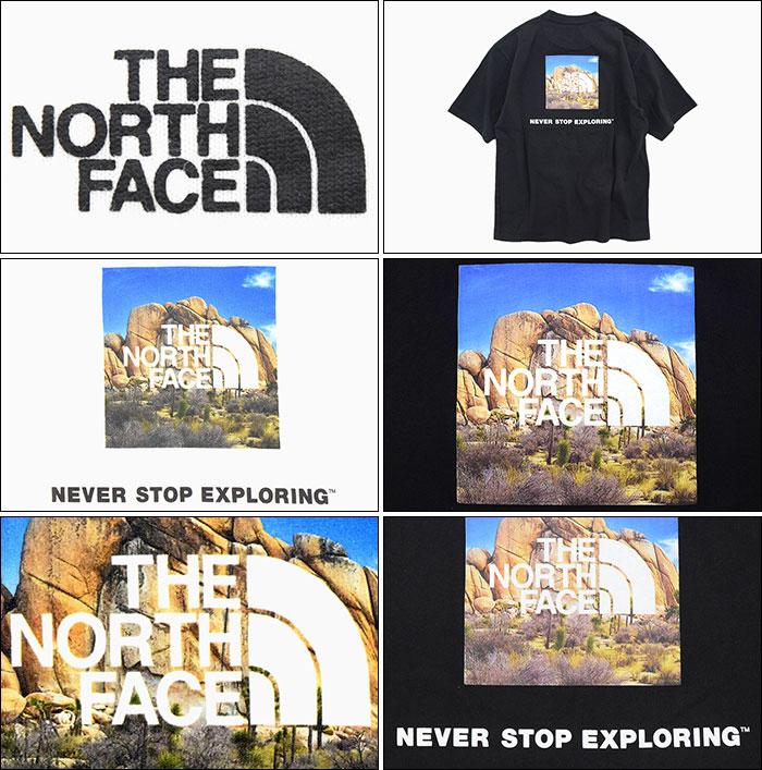 THE NORTH FACEザ ノースフェイスのTシャツ Square Logo Joshua Tree05