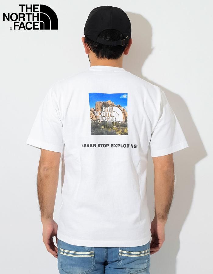 THE NORTH FACEザ ノースフェイスのTシャツ Square Logo Joshua Tree02