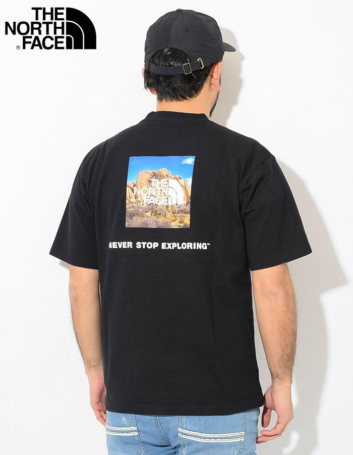 THE NORTH FACEザ ノースフェイスのTシャツ Square Logo Joshua Tree04