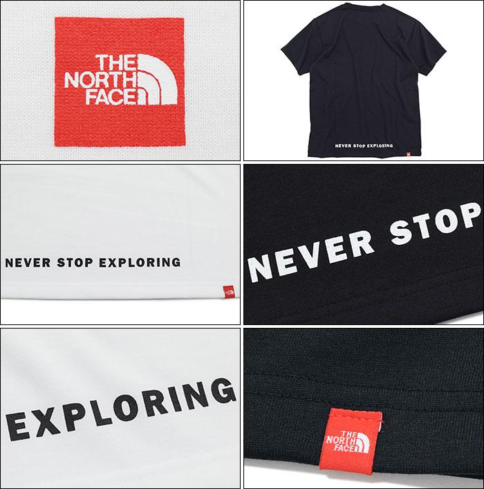 THE NORTH FACEザ ノースフェイスのTシャツ Small Box Logo09
