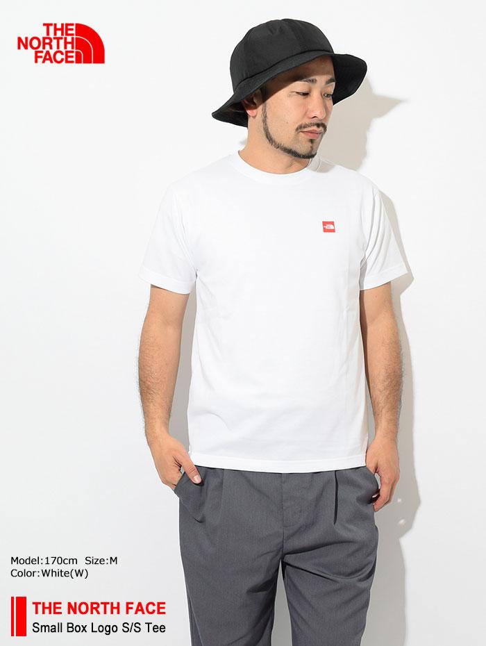THE NORTH FACEザ ノースフェイスのTシャツ Small Box Logo01