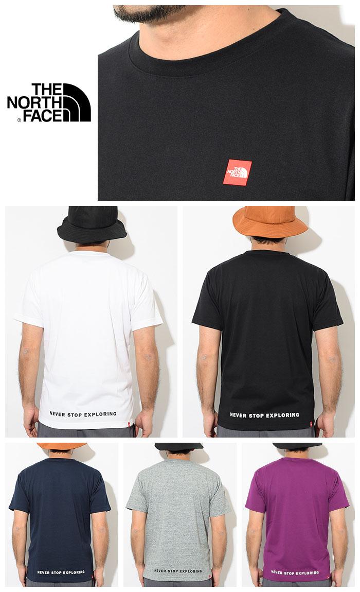THE NORTH FACEザ ノースフェイスのTシャツ Small Box Logo08