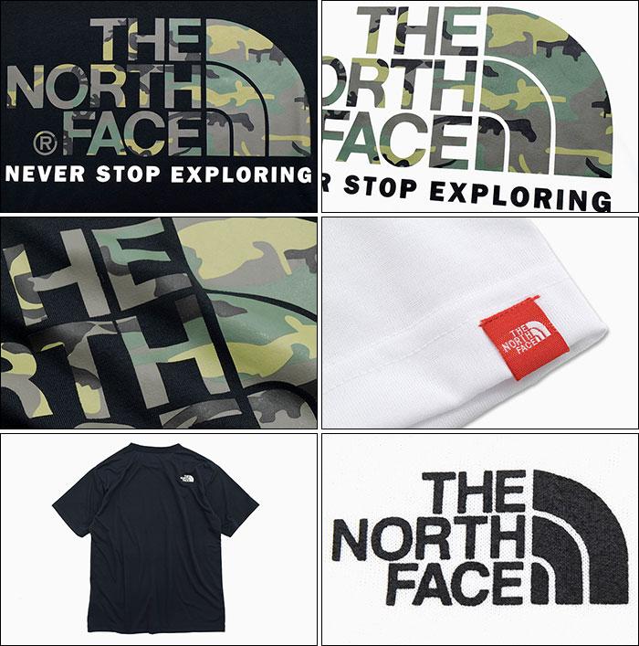 THE NORTH FACEザ ノースフェイスのTシャツ Camouflage Logo05